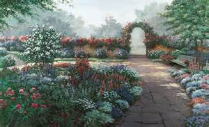 serenity garden wall mural decor place wall murals beautiful walls and fences for outdoor spaces hgtv