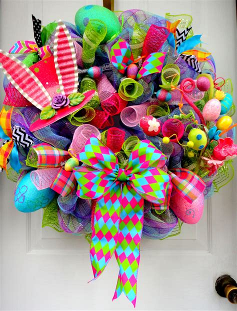Handmade Easter - 26 creative and easy handmade easter wreath designs