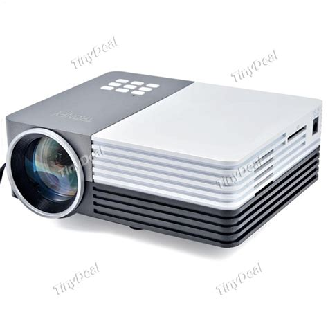 Gm50 Projector Tronfy Gm50 Led Portable Projector Lcd Hdmi Vga Usb For Pc Opj 357747 Tinydeal