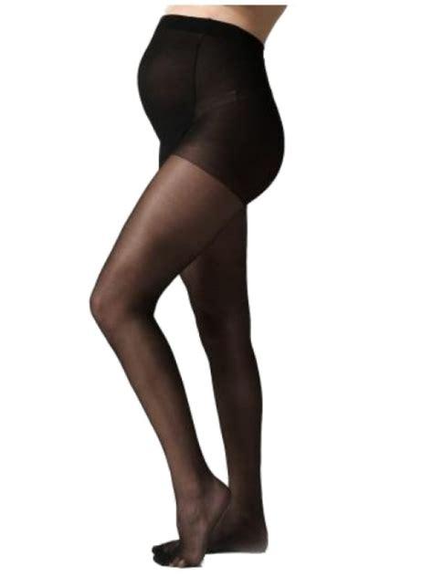 Maternity Tights premium 40 denier maternity tights black