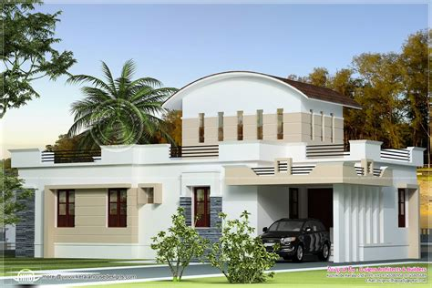 slope roof low cost home design kerala and floor plans small budget house plans kerala