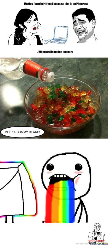 Gummy Bear Meme - vodka gummy bear by thatguyxlr meme center