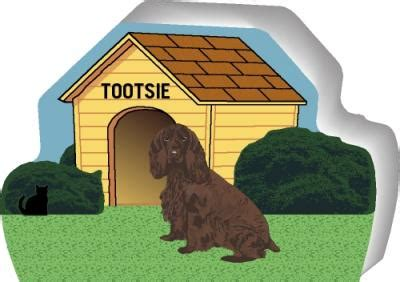 full house dog name dog house field spaniel brown coat purrsonalize me the cat s meow village