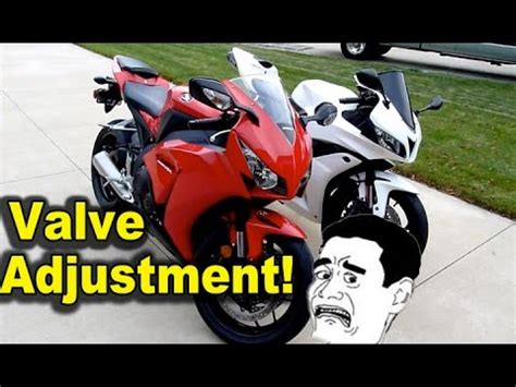 valve clearance inspection   inline  motorcycle  doovi