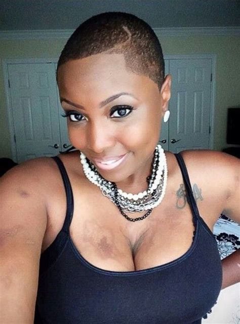 black woman fades 417 best females rocking baldie s and twa haircut images