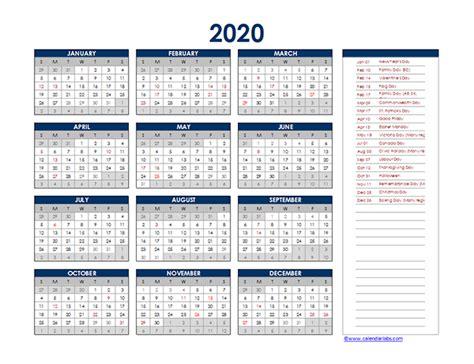 canada yearly excel calendar  printable templates