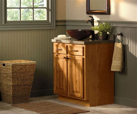 rustic bathroom cabinets aristokraft cabinetry
