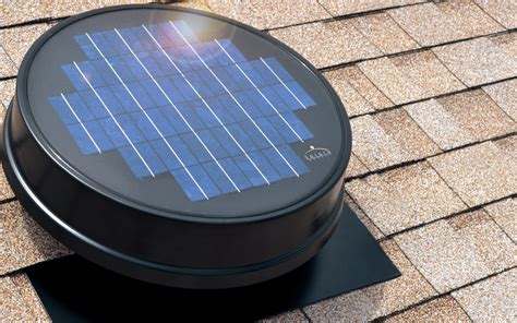solar powered attic fan solaro aire made solar powered attic fan