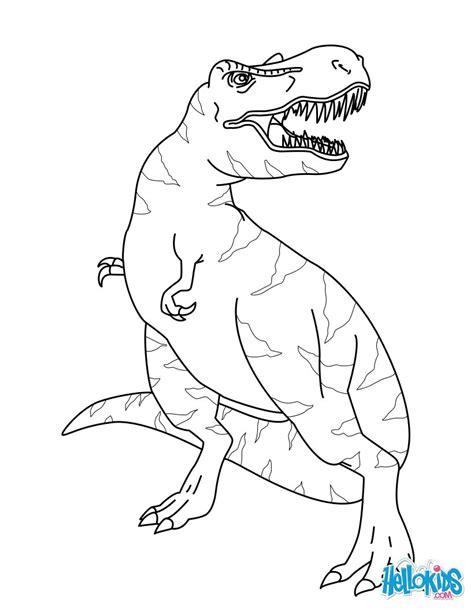 tyrannosaurus rex coloring pages hellokids com