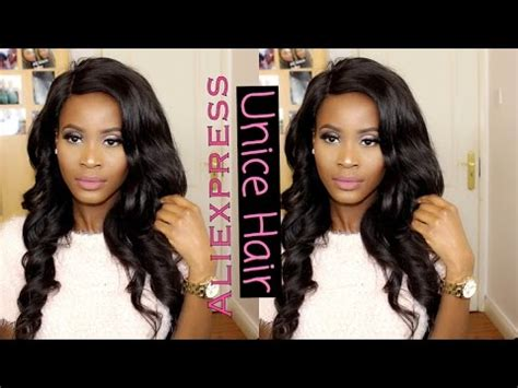 aliexpress unice hair review my thoughts