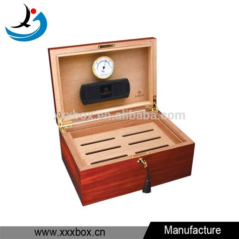 Handmade Wood Boxes For Sale - handmade cabinet shape solid wood cigar boxes for sale