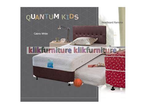 Quantum 2in1 Ramona Set 100x200 Springbed Set 2in1 ramona cabrio quantum springbed diskon promosi