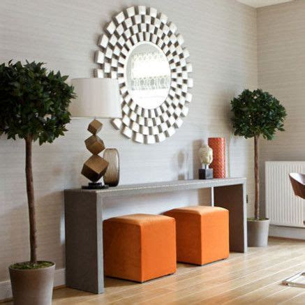 decorate  pouf ottomans  console table
