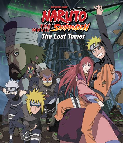 film anime naruto shippuden naruto shippuden the lost tower hits stores 9 17 2013