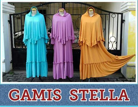 Top Dewasa Wanita Stella supplier gamis stella perempuan murah 85ribuan