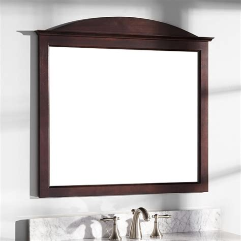 mirrors for bathroom vanities 34 quot benalla mahogany vanity mirror bathroom
