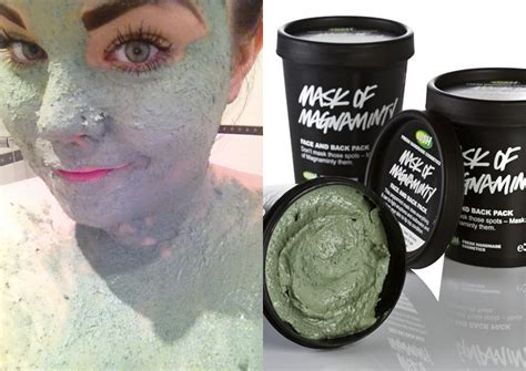 Masker Fresh Mask by Lush S Mask Of Magnaminty Mask She Might Be Loved