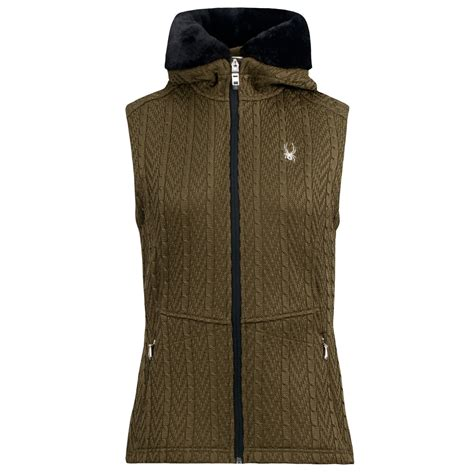 cable knit sweater vest spyder major cable knit sweater vest zip for