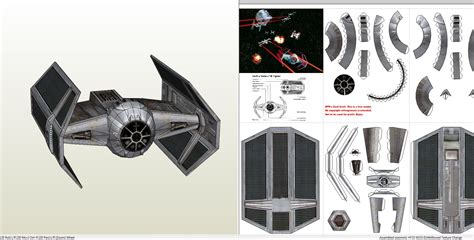 Wars Papercraft Templates by Papercraft Pdo File Template For Wars Darth Vaders