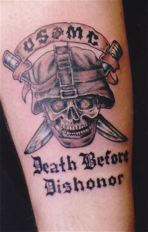 death before dishonor tattoo 1000 images about tattoos on semper fi