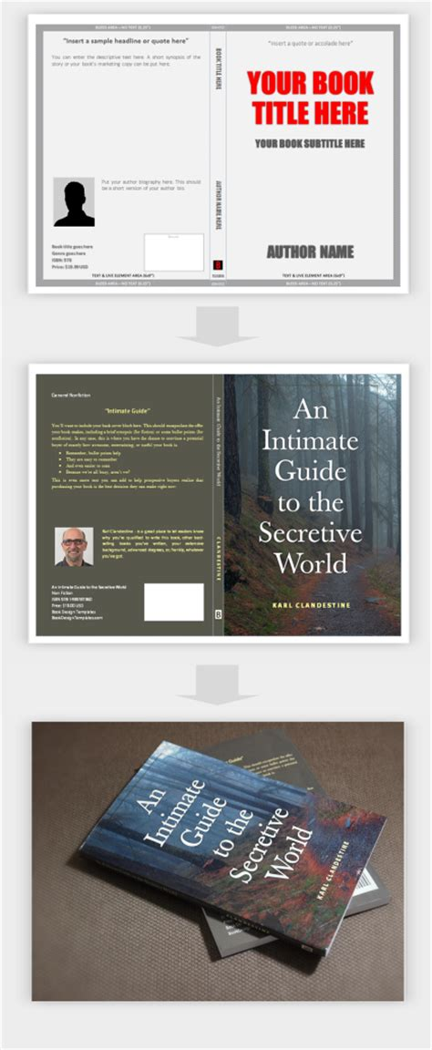 New Template Create Your Book Covers In Microsoft Word Ingram Sparks Cover Template