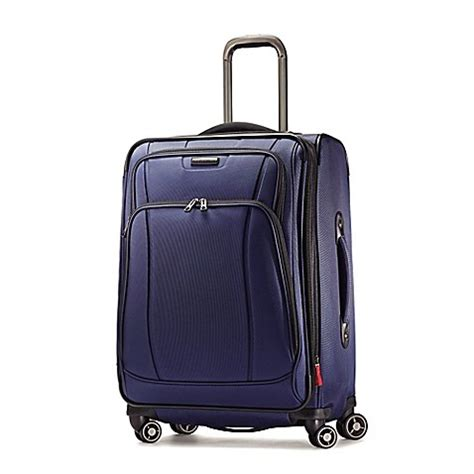 Samsonite Luggage Hyperspin 29 Inch Spinner Upright by Buy Samsonite 174 Dk3 29 Inch Upright Spinner In Space Blue From Bed Bath Beyond