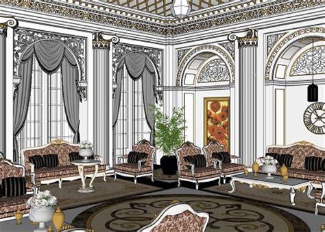 classic living room sketchup 2 by teknikarsitek on deviantart free 3d models living room living room classic style