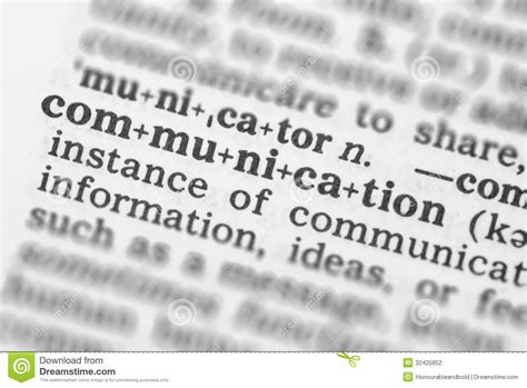macro image  dictionary definition  communication