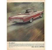 1964 Buick Wildcat Automobile Original 1963 Vintage Print
