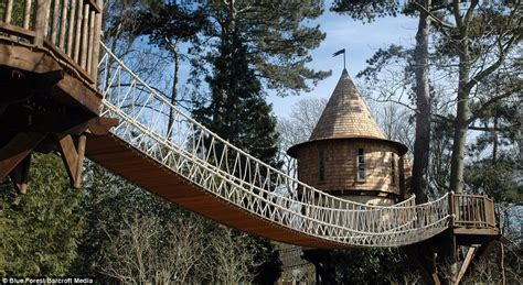 real treehouse now that s a real millionaire play pad the luxury tree houses that sell for 163 250 000 daily