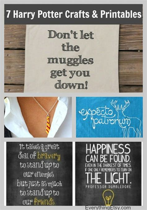 7 harry potter craft ideas printables 7 harry potter craft ideas printables