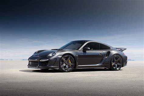 Porsche Carbon by Topcar Stinger Porsche Gtr Carbon Edition Takes 911