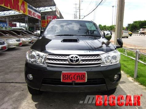toyota car prices in usa used toyota fortuner 3 0 g mt4wd cars year 2009 price
