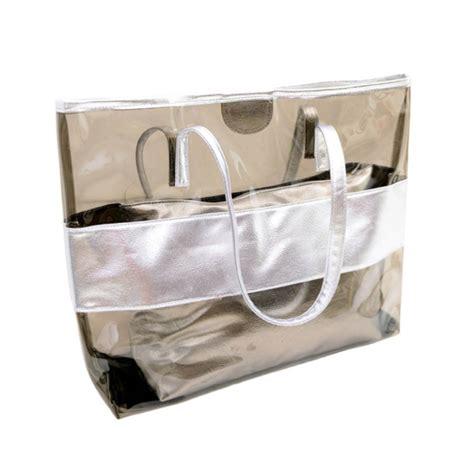 Fashion Bag Shopper fashion clear tote pvc vinyl plastic large shopper