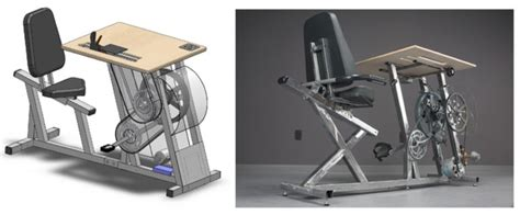 move treadmill desk pedal power gives you a workout