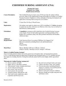Nursing Assistant Description For Resume by Doc 3702 Resumes For Cna 75 Related Docs Www Clever