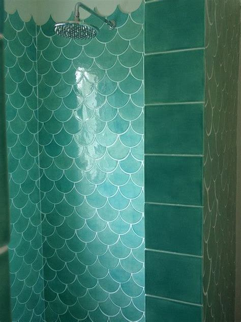 mermaid tile bathroom mermaid shower i m a mermaid pinterest