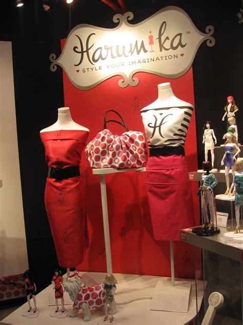 fashion design doll harumika bandai america at the toy fair dancing hotdogs