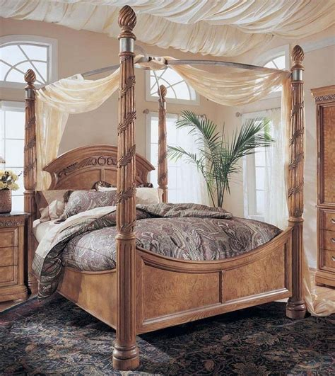 King Size Canopy Bed King Size Wynwood Canopy Bed Canopy Beds Pinterest