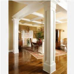 Decorative Pillars Inside Home Square Recessed Mdf Column Wraps Check Out Our Great