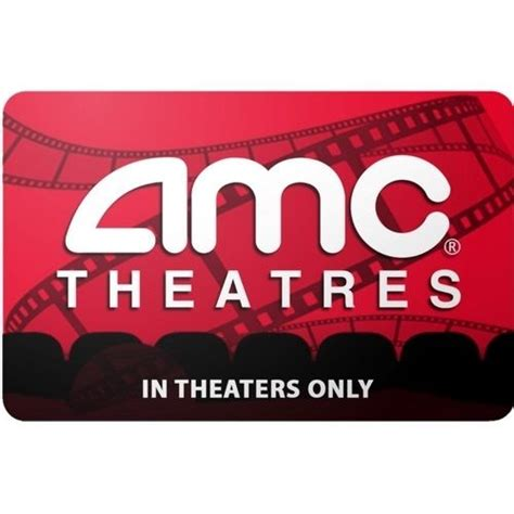 Loews Theater Gift Card - amc theatres pre owned 25 gift card only 19 00 free mail delivery 19 00