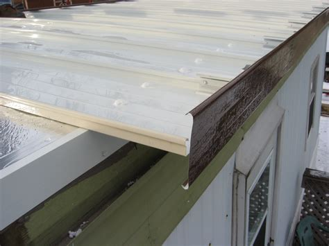 New Mobile Home Roof   MacHose Contractors   Allentown PA