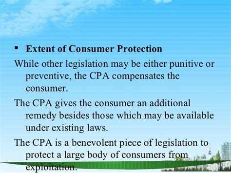 section 15 of consumer protection act consumer protection act 1986 ppt bec doms