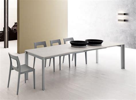 tavolo prezzo tavolo allungabile con piano in finitura bianco opaco