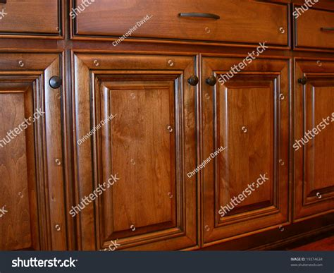 Stock Kitchen Cabinet Doors | kitchen cabinet doors stock photo 19374634 shutterstock