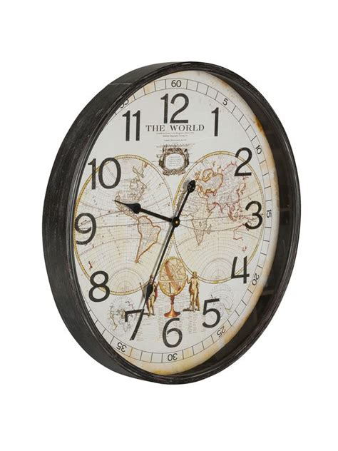Cottage Wall Clock by Cartography Wall Clock Cottage Home 174