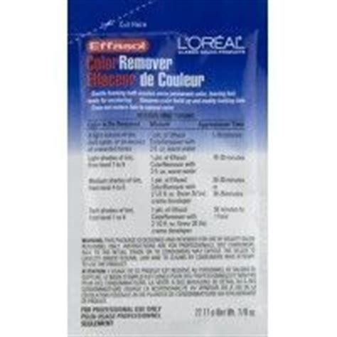 loreal hair color remover reviews l oreal effasol color remover reviews photo