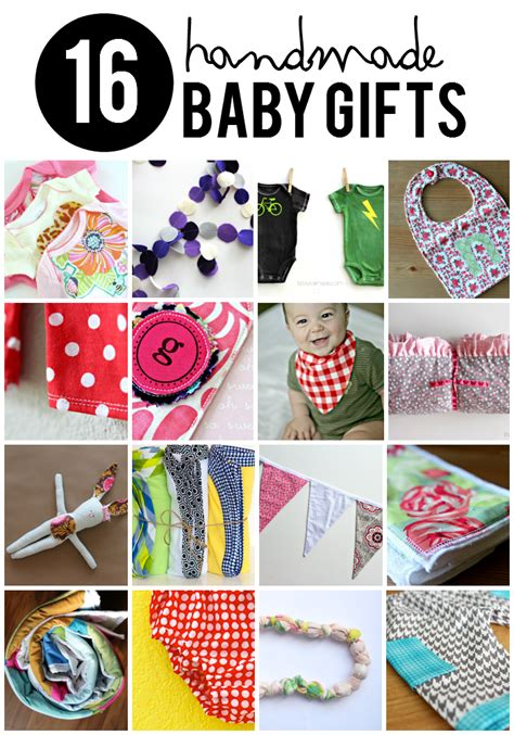 Baby Gifts Handmade - 16 handmade baby gifts that every will taylormade