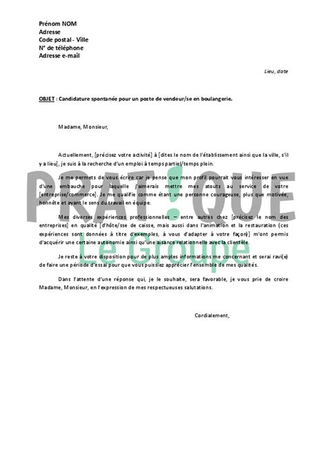 Lettre De Motivation Candidature Spontan E Pour Un Lyc E modele lettre de motivation gratuite candidature spontan 233 e