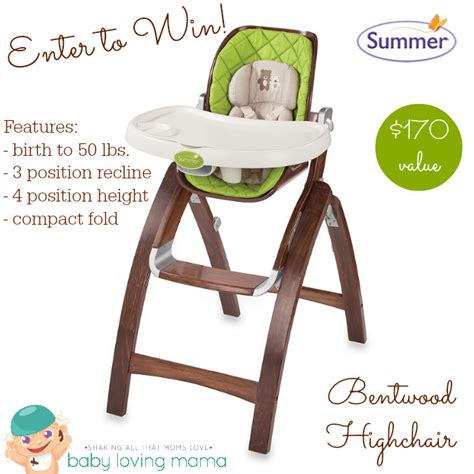 Giveaways On The Talk - summer infant bentwood collection featured on the talk giveaway finding zest